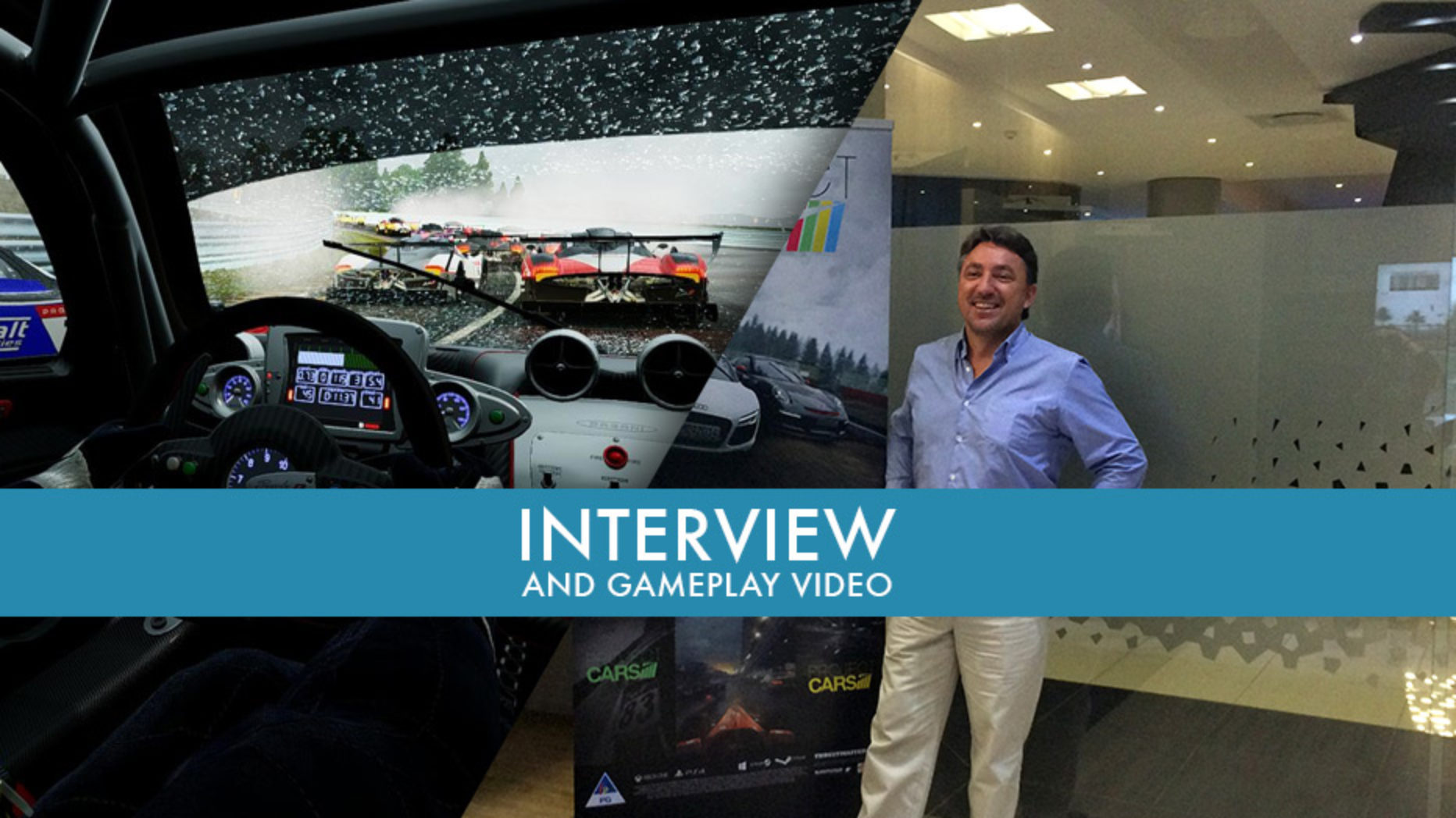 Project CARS: The Forza and Gran Turismo Killer? | Interview and Gameplay Video