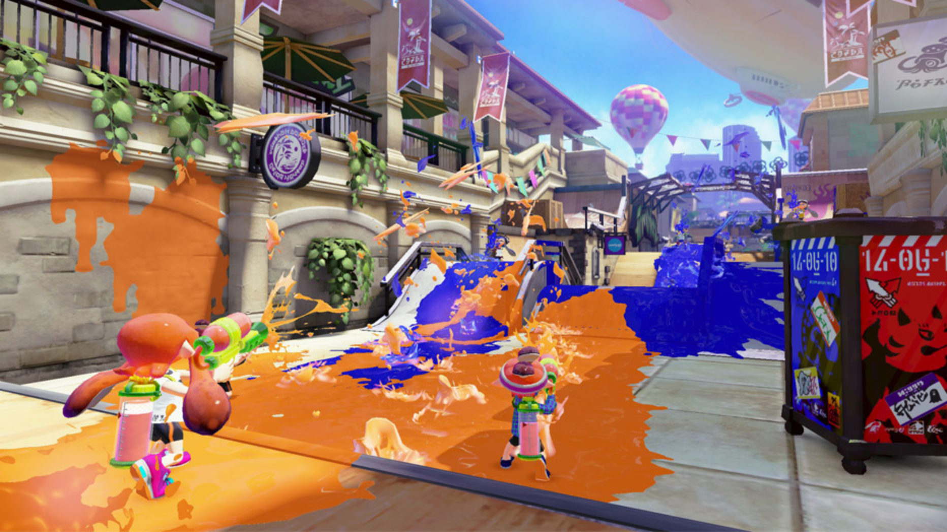 Splatoon Review | Wii U
