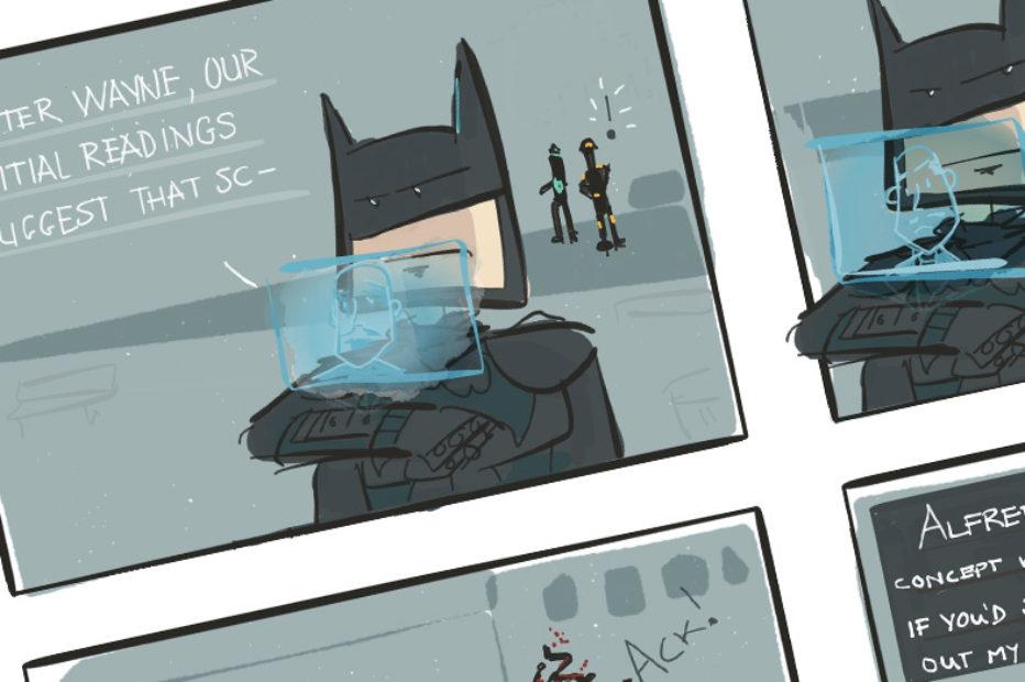 Web Comic: Dammit Alfred [Batman: Arkham Knight]