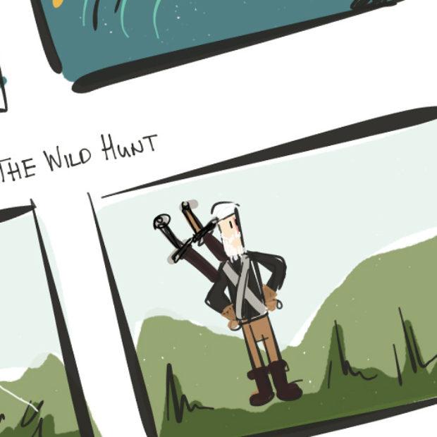 Web Comic: Roach vs The Batmobile