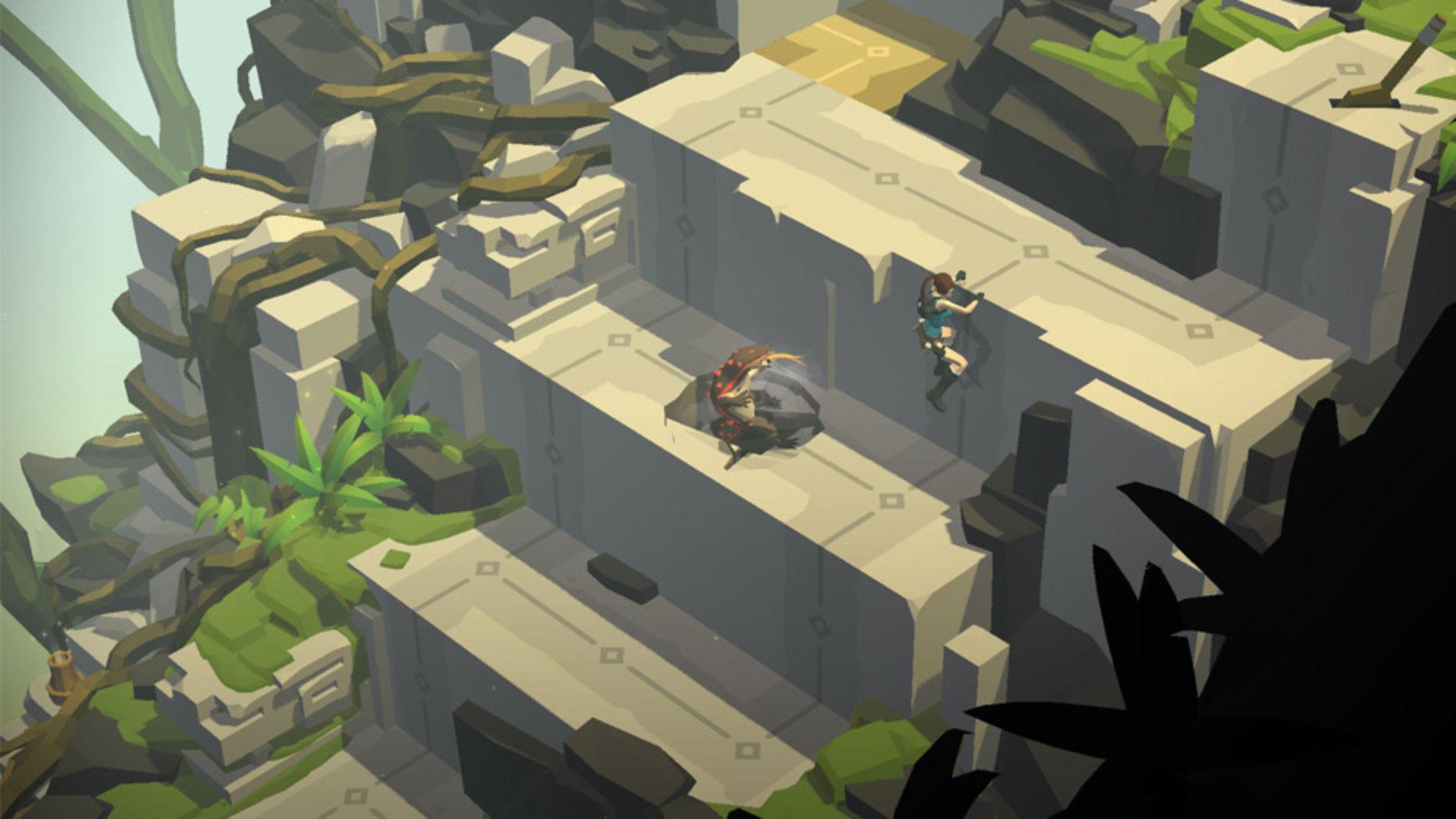 Lara Croft GO Review | iOS