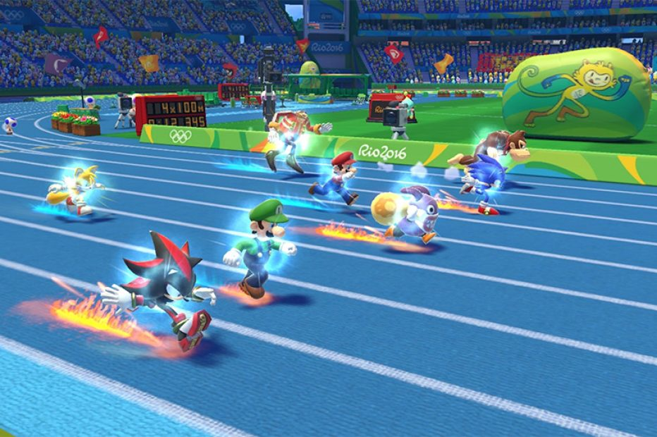 Mario & Sonic at the Rio 2016 Olympic Games Review   3DS