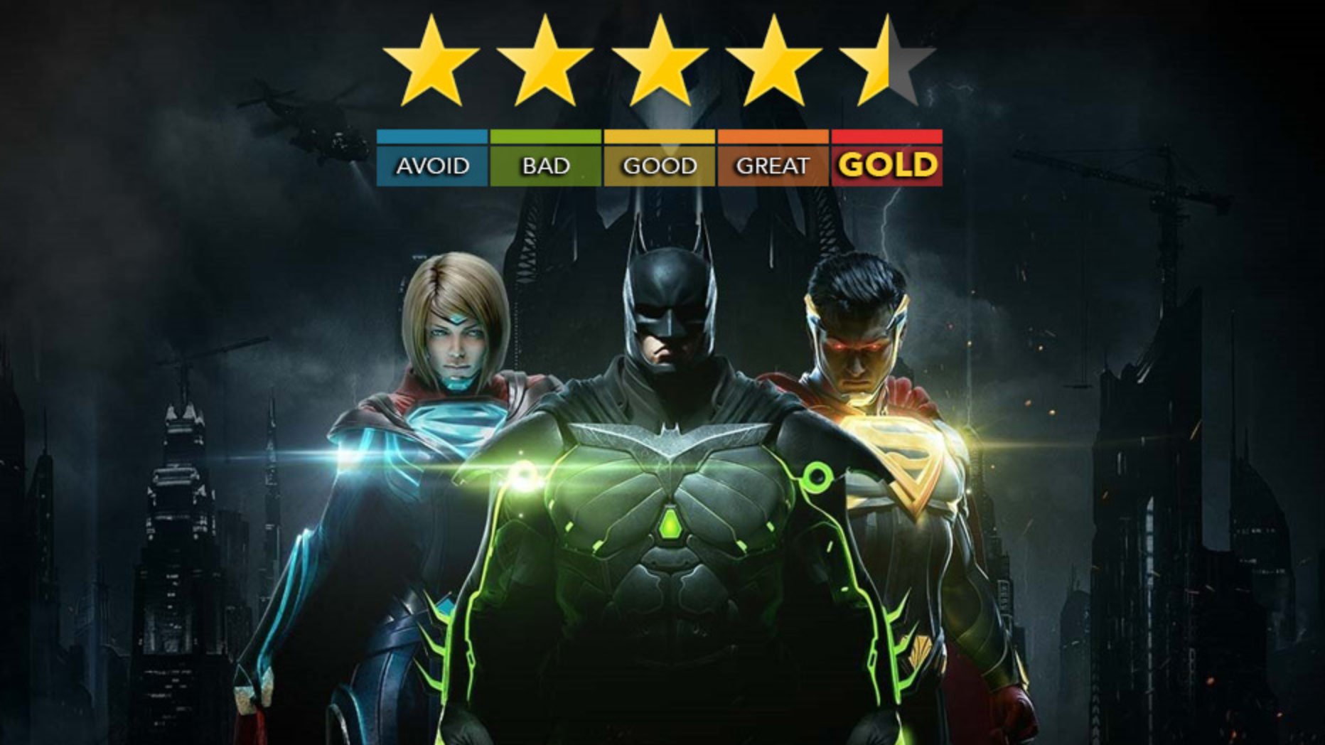 Injustice 2 Review | Prizes on Infinite Earths