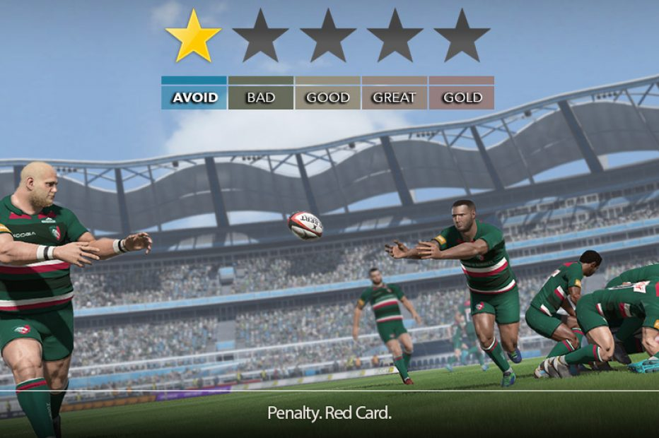 Rugby 18 Review – Red Card