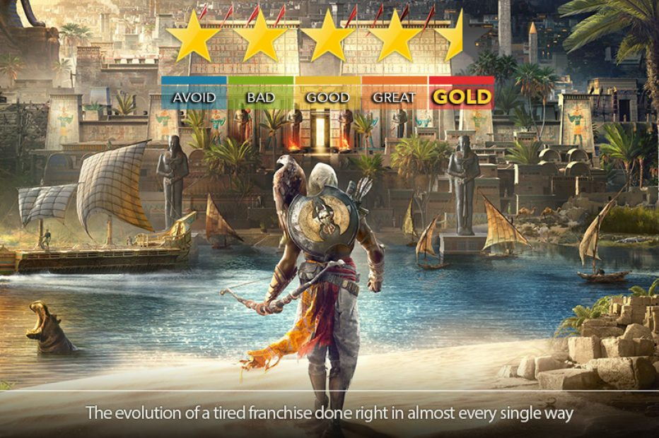 Assassin's Creed: Origins Review | Irresistible Pharaoh Moans