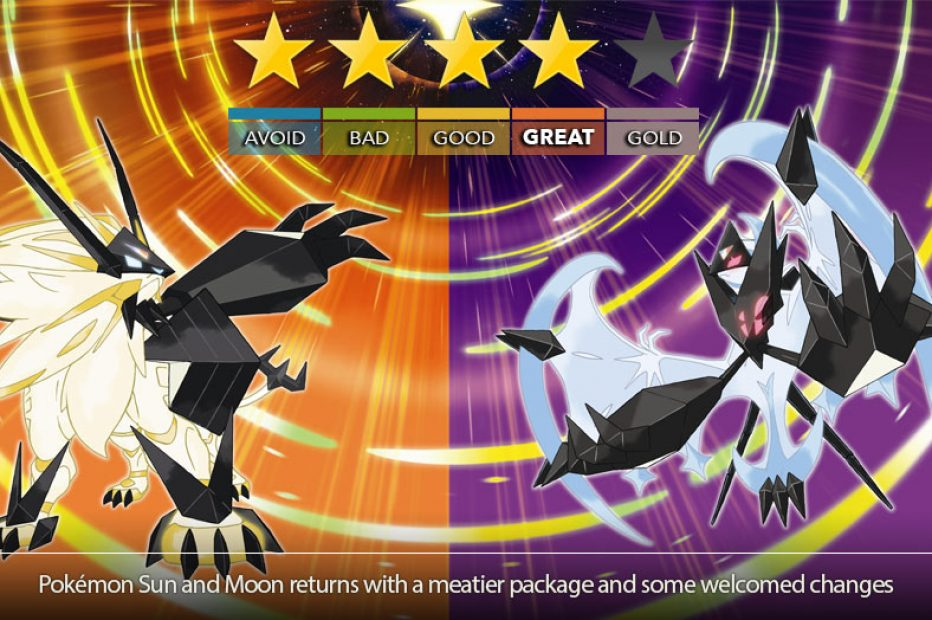 Pokémon Ultra Sun and Ultra Moon Review – Ultra Upgrade