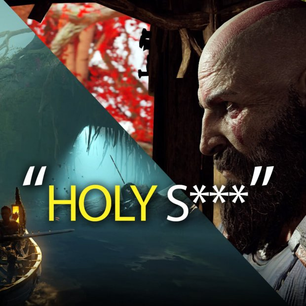 Insane GOD OF WAR Gallery Shows PS4 Pro's Power [SPOILER FREE]