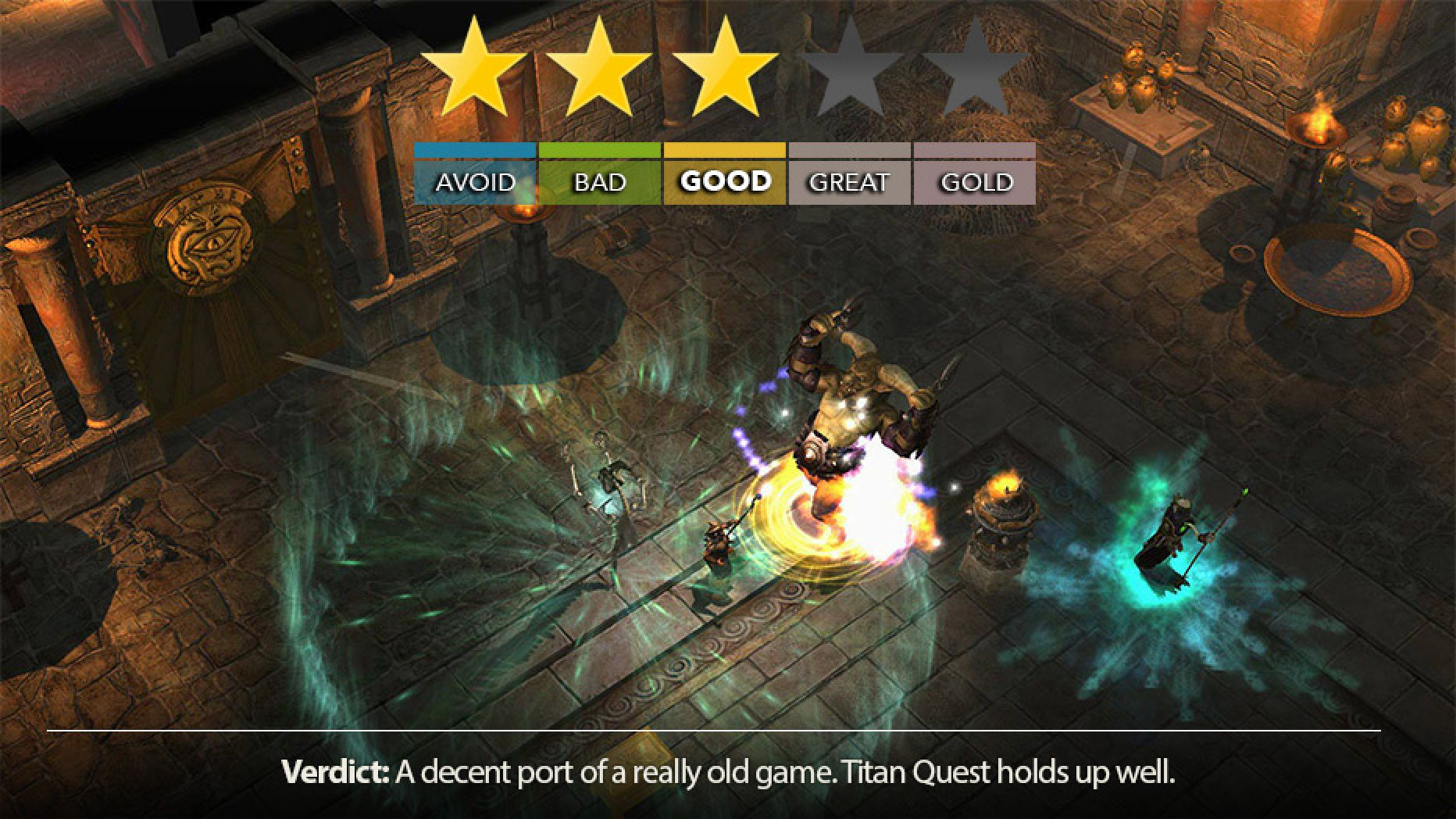 TITAN QUEST Looks As Ancient As Its Setting | Console Review