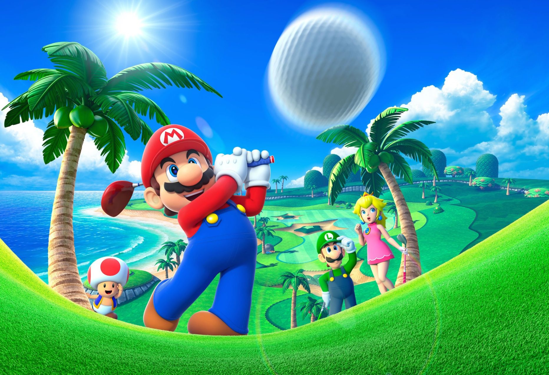 Mario Golf World Tour [3DS]