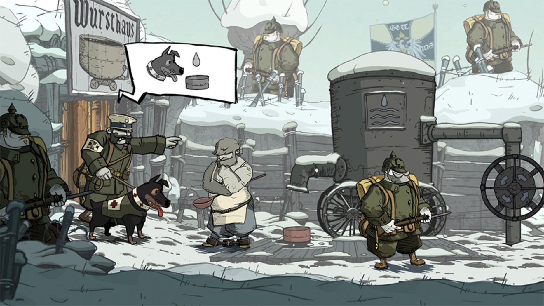Valiant Hearts: The Great War (Free on PS+)