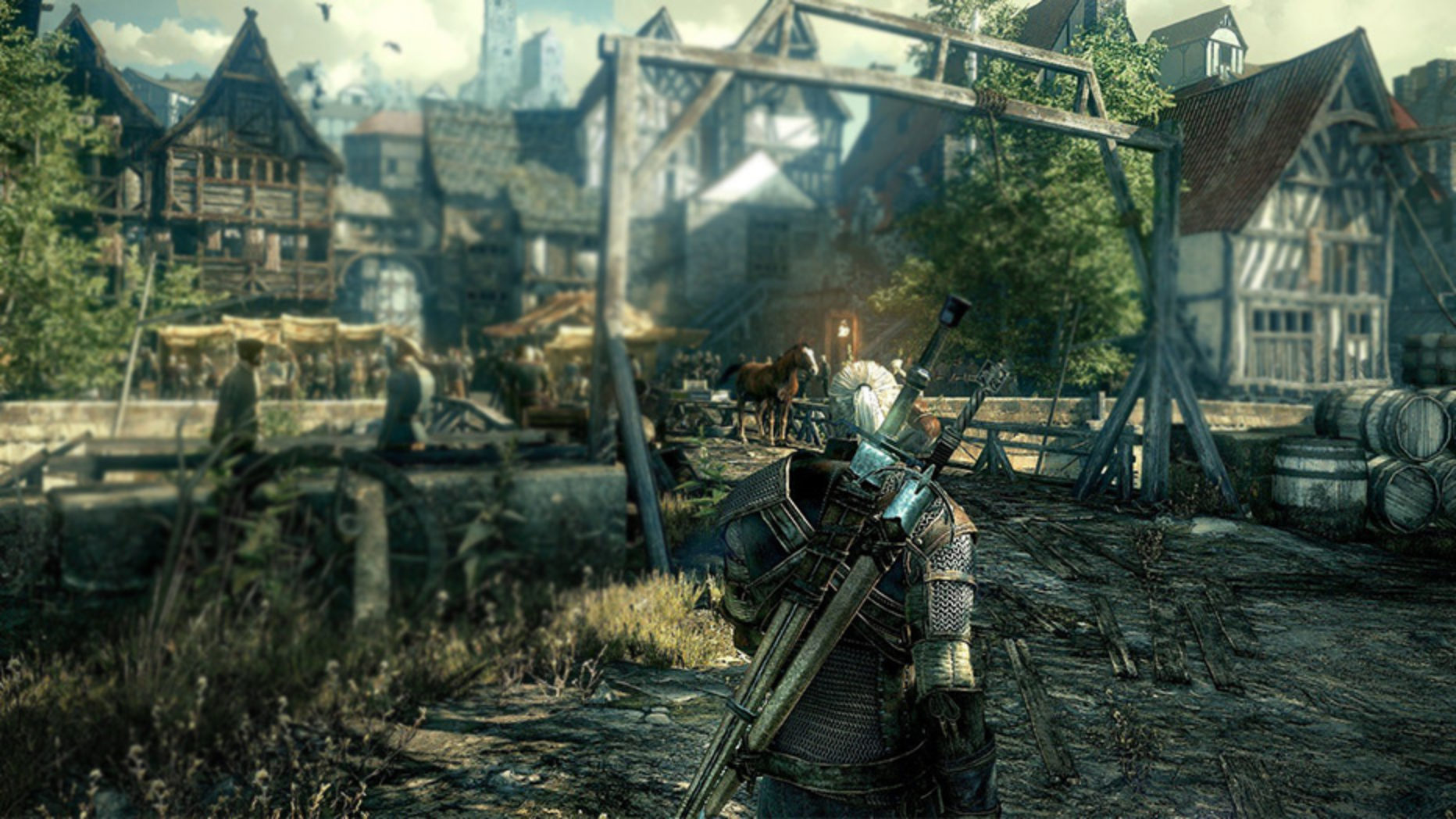 The Witcher 3 Gameplay and Early Impressions