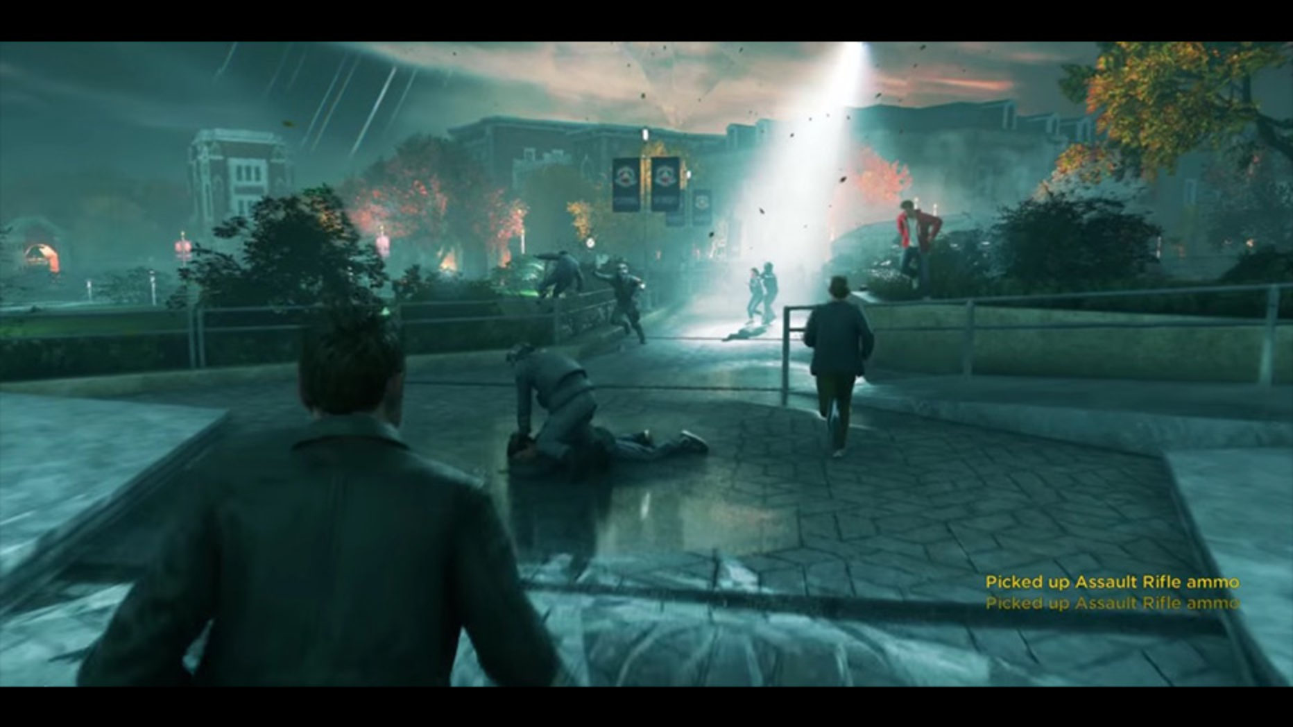 This Quantum Break Gameplay Looks Incredible
