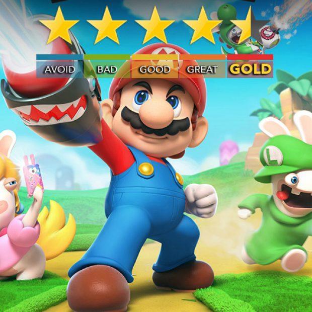 Mario + Rabbids Kingdom Battle   Review and Trailer