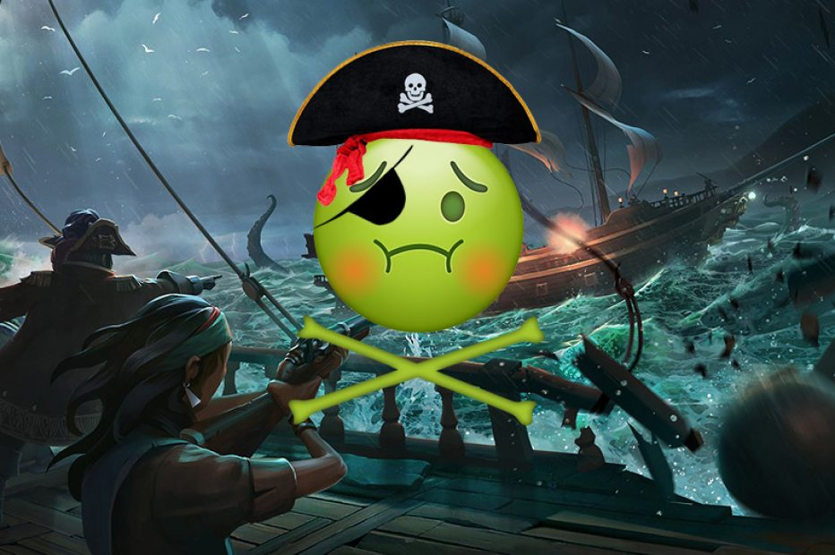 I almost threw up playing Sea of Thieves, so maybe I should look into that