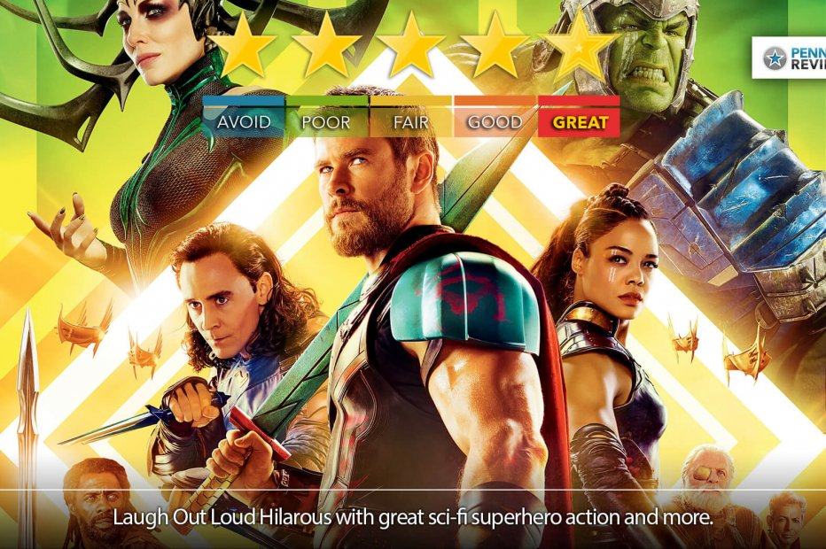 THOR: RAGNAROK's Blu-Ray Is The Picture of Perfection   Blu-Ray Review