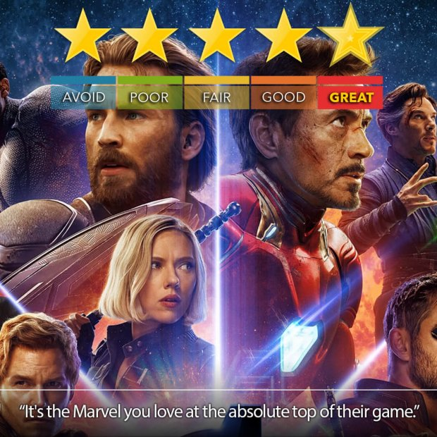 Avengers: Infinity War Is Marvel At Its Best | Blu-Ray Review