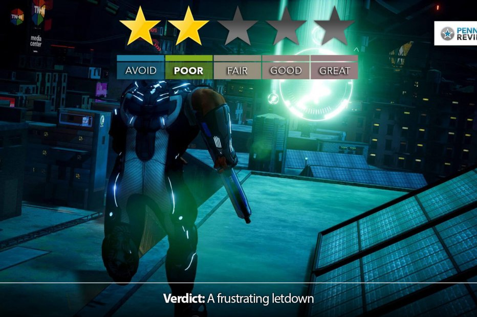 Crackdown 3 Review – Let-Down   Xbox One