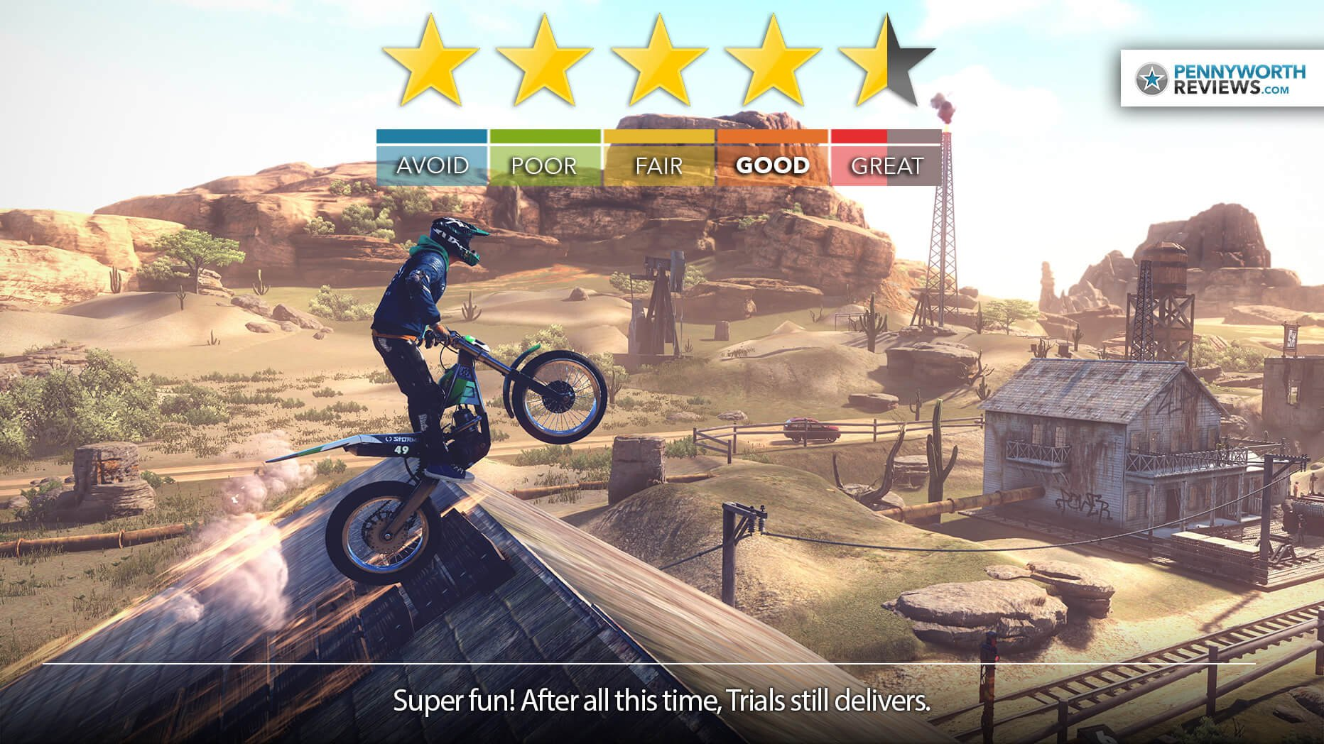 Trials Rising Review – Getting High