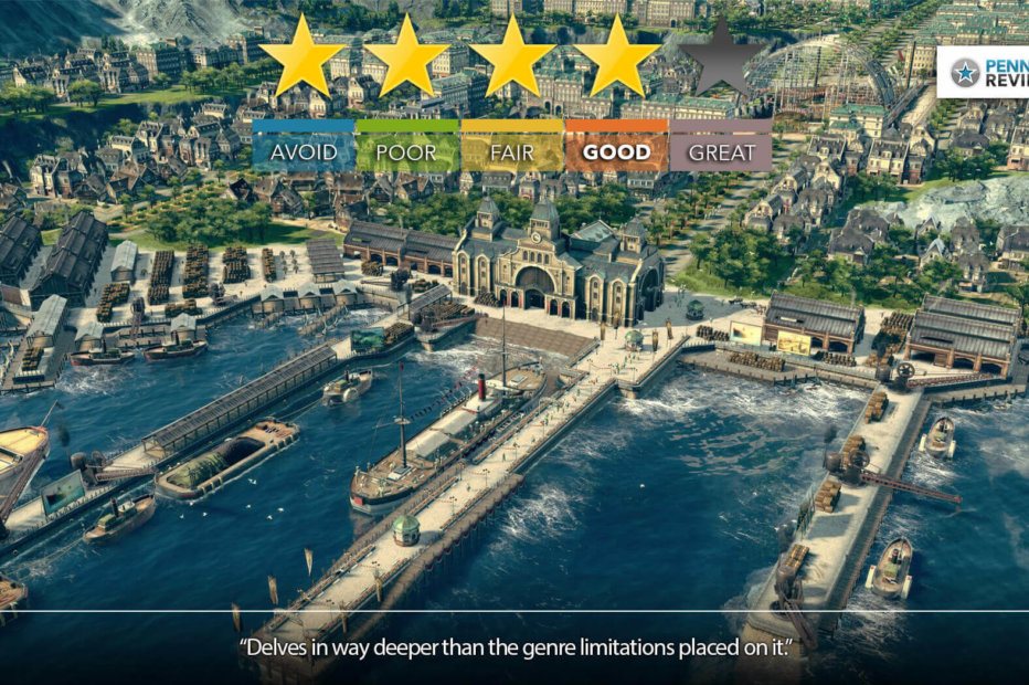 Anno 1800 Review – We Built This City!   PC