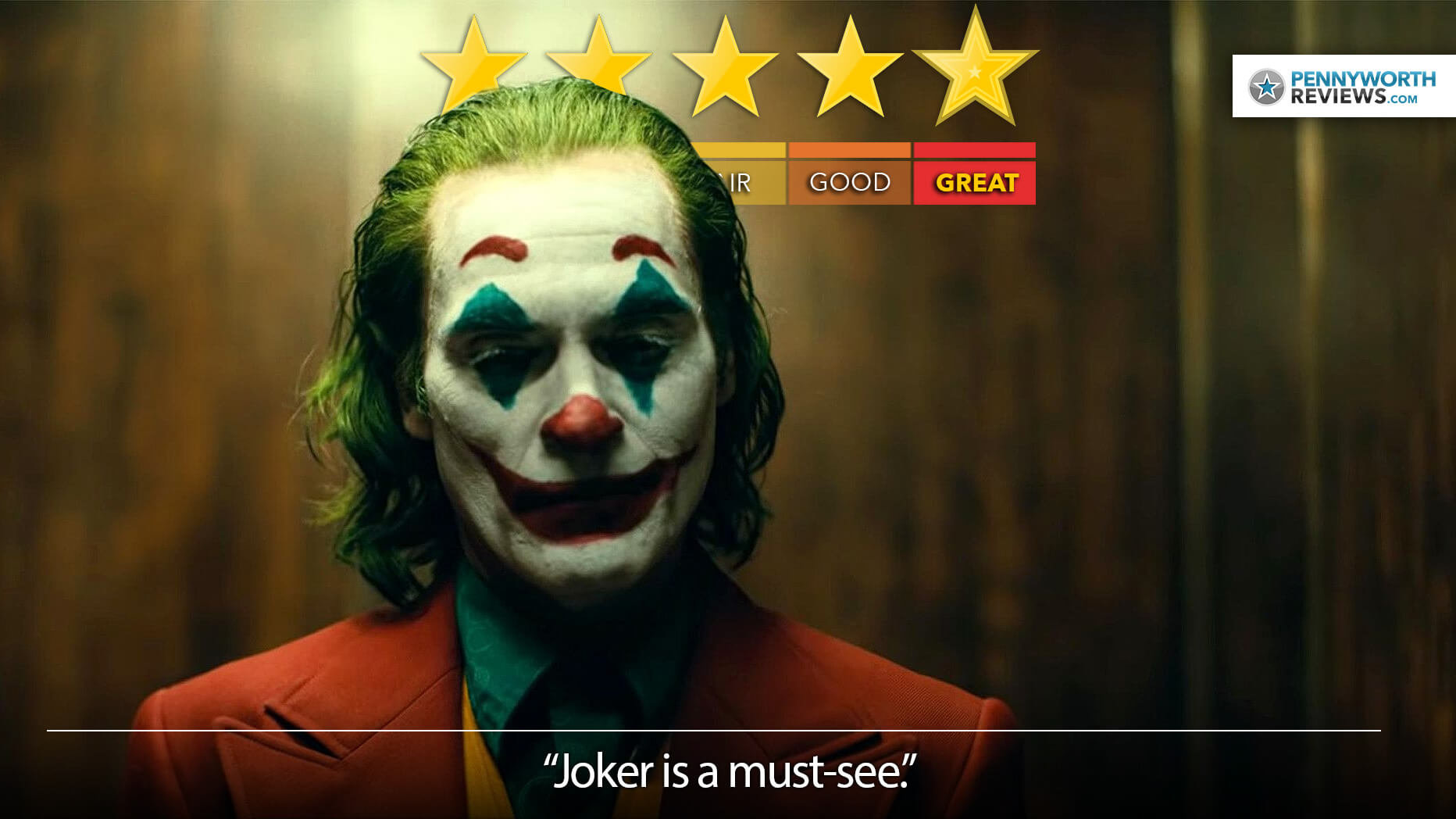 JOKER Movie Review – A Powerful Punchline
