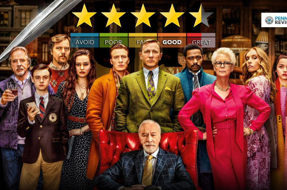 Knives Out – Film Review   An Entertaining Whodunnit With A Great Cast