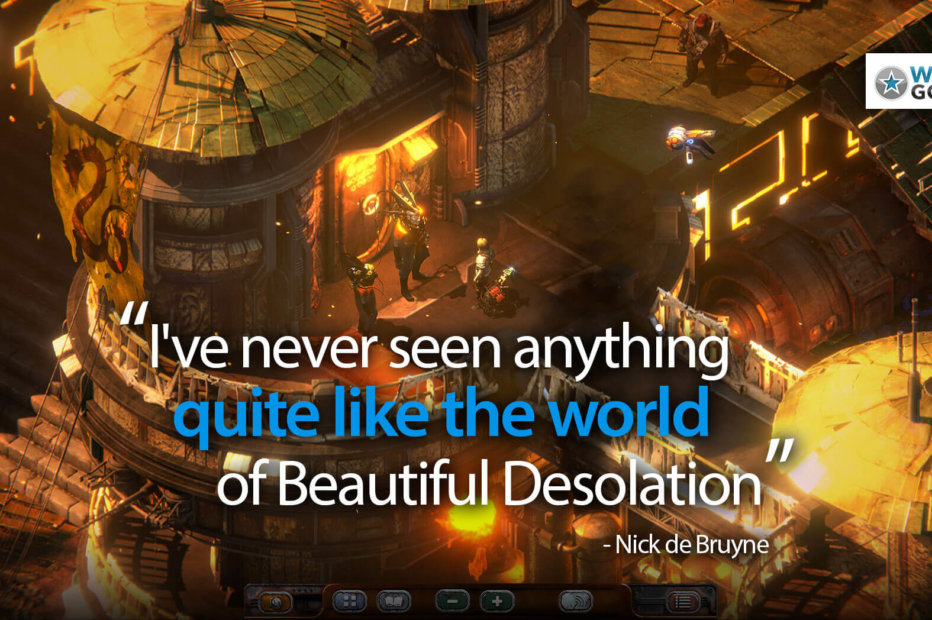 Beautiful Desolation Blends Old-School Gaming With Truly Fresh Sci-Fi  | Review (in Progress)